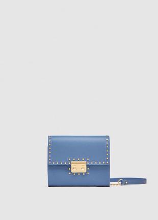 Модная мини сумочка с ремнем на/ через плечо zara