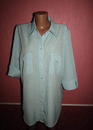 Блуза рубашка большой р-р(18\20) бренд canda