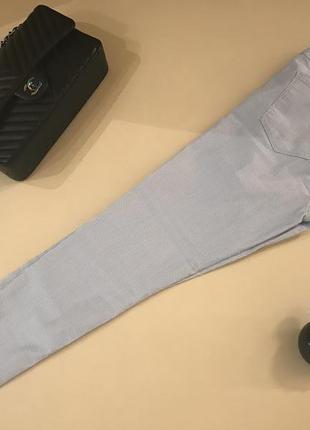 Нежно голубые джинсы скинни новые