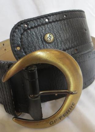 Ремень gianfranco ferre  90-105 см кожа