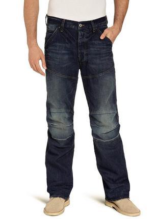 Новые с биркой джинсы рваные w29 l30 *g-star raw* 3d loose