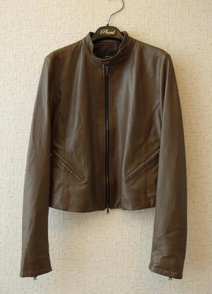Стильная кожаная куртка john richmond