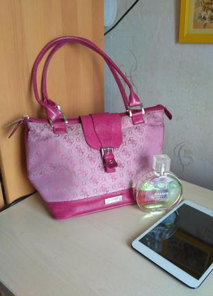 Удобная сумка oriflame сумочка цвета фуксии фуксия