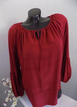 Натуральная блуза, 100 % вискоза
