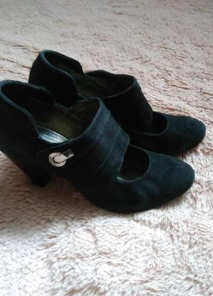 Туфлі з натурального замшу!