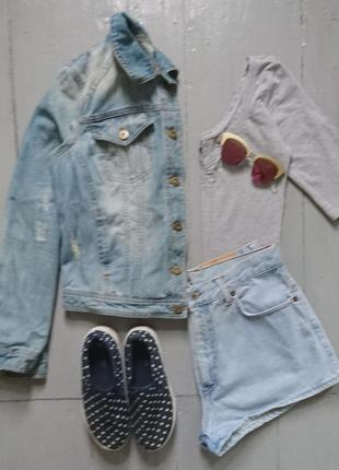 Актуальная олдскульная джинсовая курточка №22 next