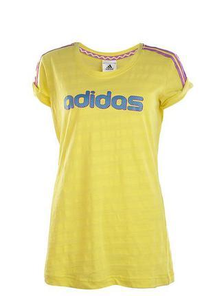 Спортивная футболка adidas оригинал 100% коттон