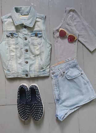 Актуальная джинсовая жилетка №24 new look