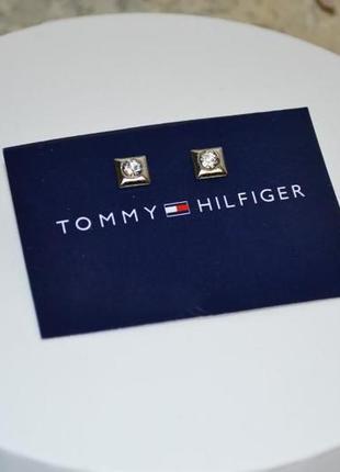 Сережки tommy hilfiger