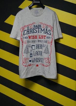 Рождественские футболки с принтом