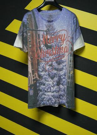 Рождественские футболки с принтом easy