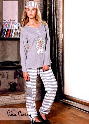 """Домашний костюм """"pierre cardin"""", женская пижама, домашняя одежда, одежда дома"""