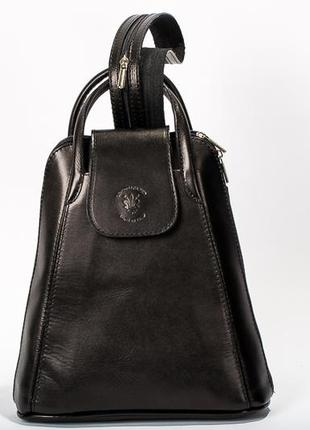 Стильний рюкзак - сумка vera pelle