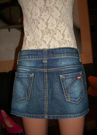 Юбка мини джинсовая killah,р.s/m