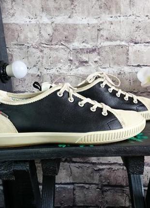 Кеды, спортивные туфли ecco. оригинал. натуральный замш, натуральная кожа.