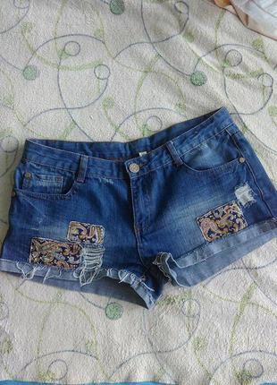 Шорты джинсовые женские короткие