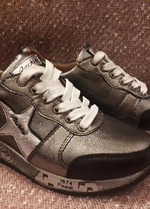 Кроссовки кожаные новые