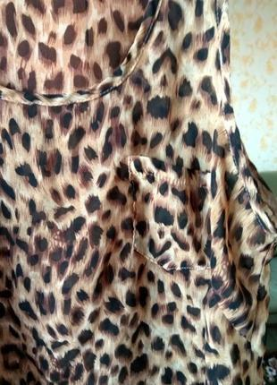 Шифоновая блуза new look