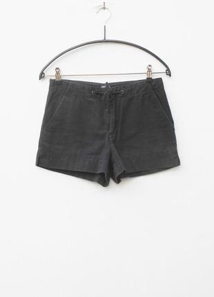 Летние хлопковые пляжные шорты soft grey