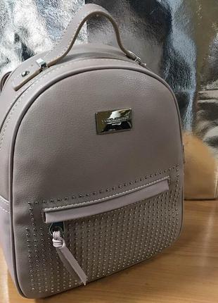 Рюкзак d. jones cm3726 pink (розовый) (3 цвета)