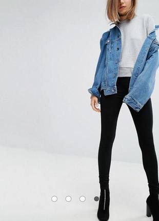 Новые чёрные джинсы cheap monday