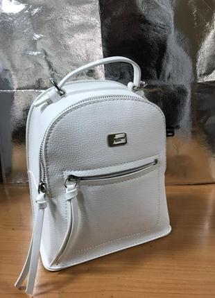 Рюкзак d. jones 5748-2 white (белый) (4 цвета)