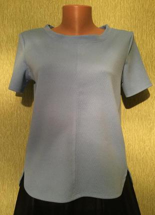 Блузка из фактурной ткани