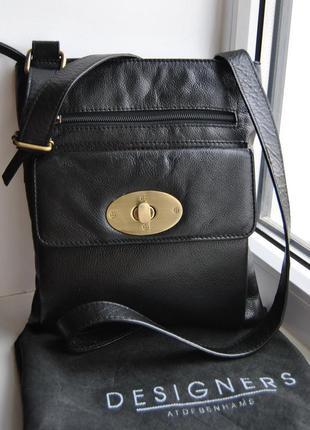 Кожаная сумка кроссбоди / шкіряна сумка