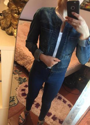 Mango джинсовая куртка