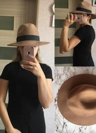 Шапка шляпа «фёдора» only размер: s