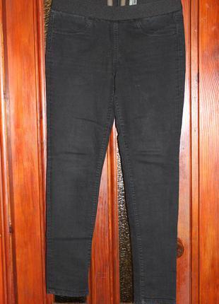!!! акция 1+1=3 джинсы на резинке м