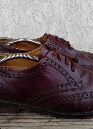 Туфли броги gallus liberty германия кожа 42.5р