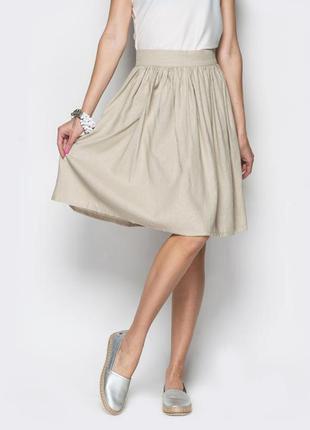 Ідеальна літня юбка із льону