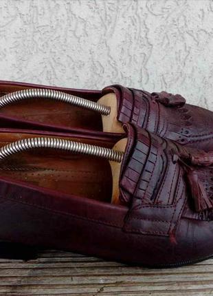 Туфли лоферы red butler германия кожа 43р