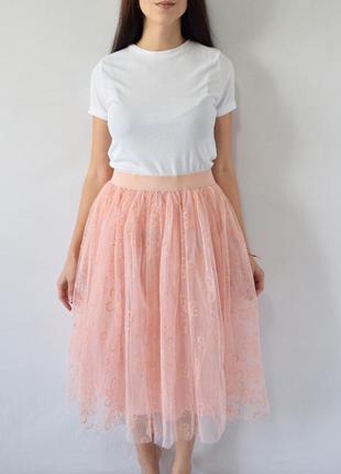 Фатиновая юбка (новая, с биркой) boohoo