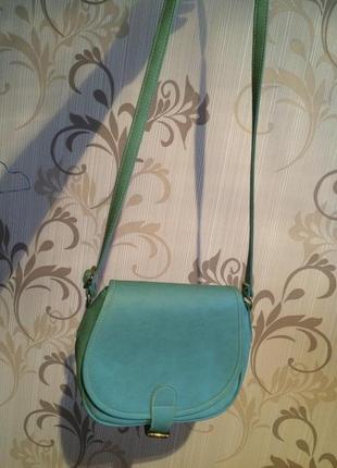 Новая мятная сумка
