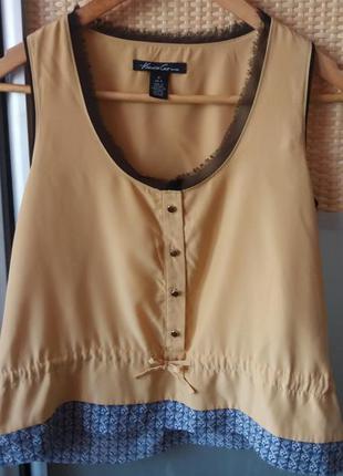 Стильная брендовая блуза/майка от  kenneth cole.