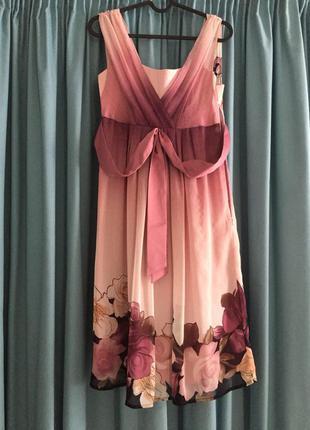 Нежнейшее нарядное (выпускное ) платье -сарафан от iren klairie