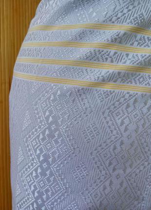 Длинная летняя пляжная юбка парео тайский шелк /юбка саронг3