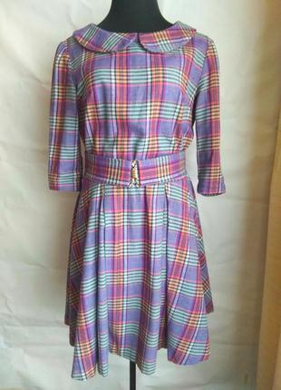 Хлопковое платье а-ля 60-е