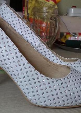 Свадебные, нарядные туфли