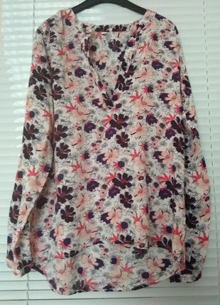 Блуза цветочный принт  zeeman