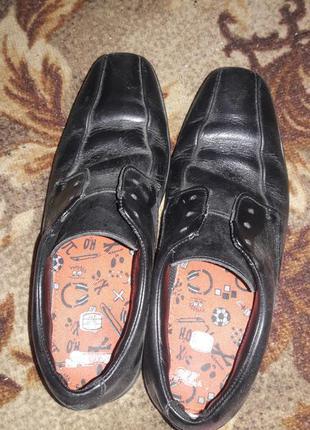 Туфли школьные кожа 36 размер
