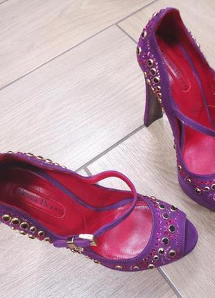 Туфли cesare paciotti 36 нарядные на выпускной, свадьбу