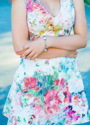 Безумно красивое платье zara