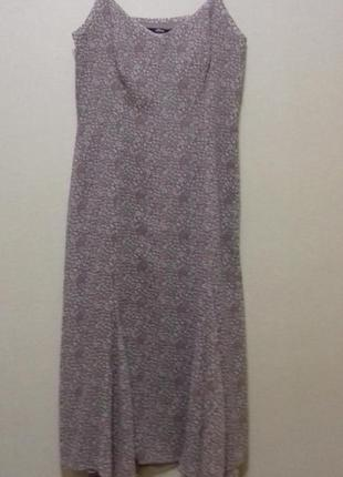 Сарафан платье шифон летнее на подкладке s'oliver   размер 34