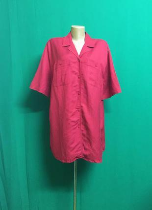 Льняная туника-рубашка canda