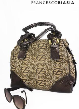 Итальянска сумка francesco biasia, оригинал