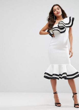 ... Asos оригінальна сукня з воланами4 ... 17b68b2826933