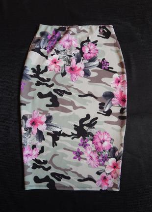 Стильная юбка-карандаш new look (размер 38)